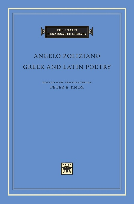 Greek and Latin Poetry