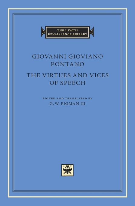 The Virtues and Vices of Speech