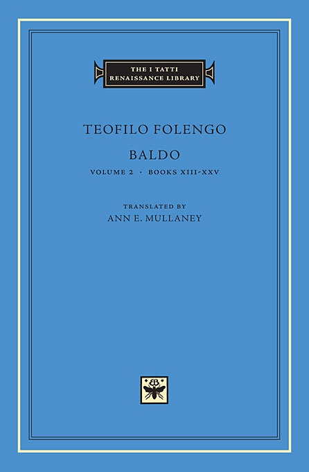 Baldo, Volume 2: Books XIII-XXV