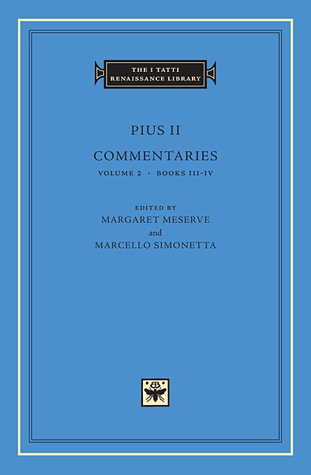 Commentaries, Volume 2: Books III-IV