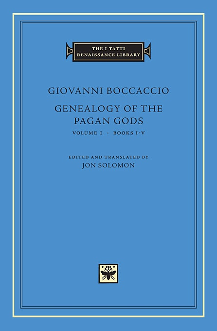 Genealogy of the Pagan Gods, Volume 1: Books I-V