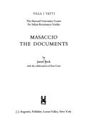 Masaccio: The Documents