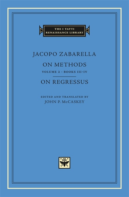 On Methods, Volume 2: Books III-IV. On Regressus