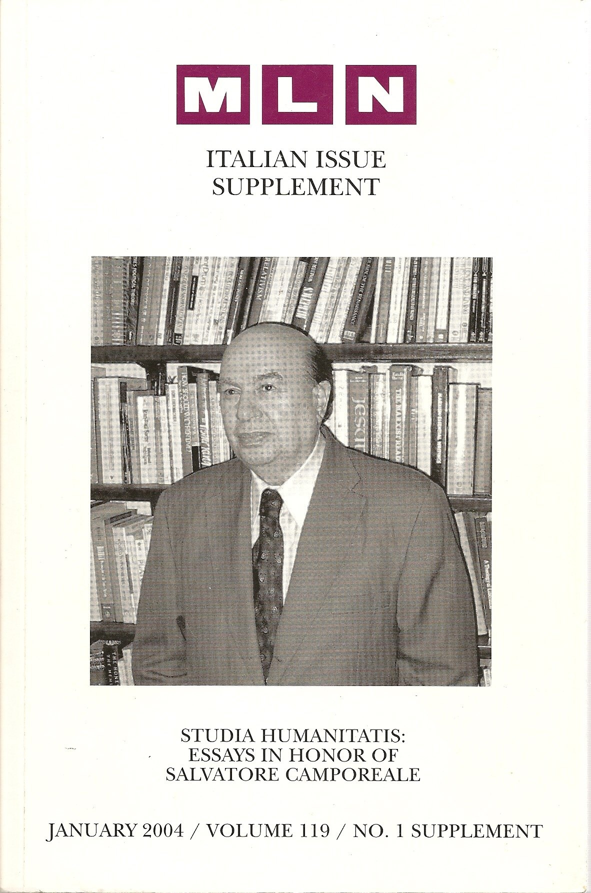 Studia Humanitatis : Essays in honor of Salvatore Camporeale