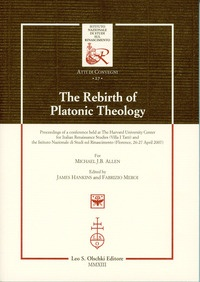 The Rebirth of Platonic Theology