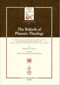 The Rebirth of Platonic Theology