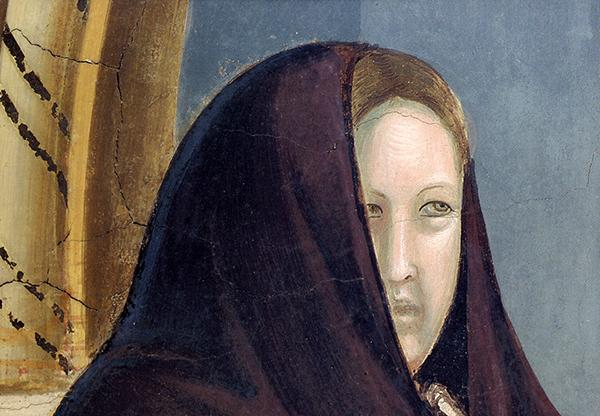 Detail of a Giotto painting