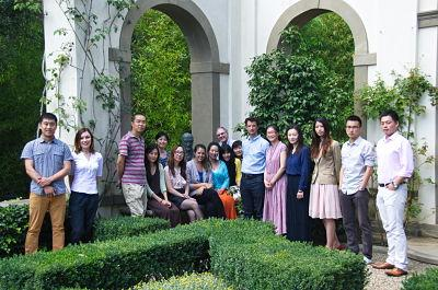 Summer Seminar participants at I Tatti