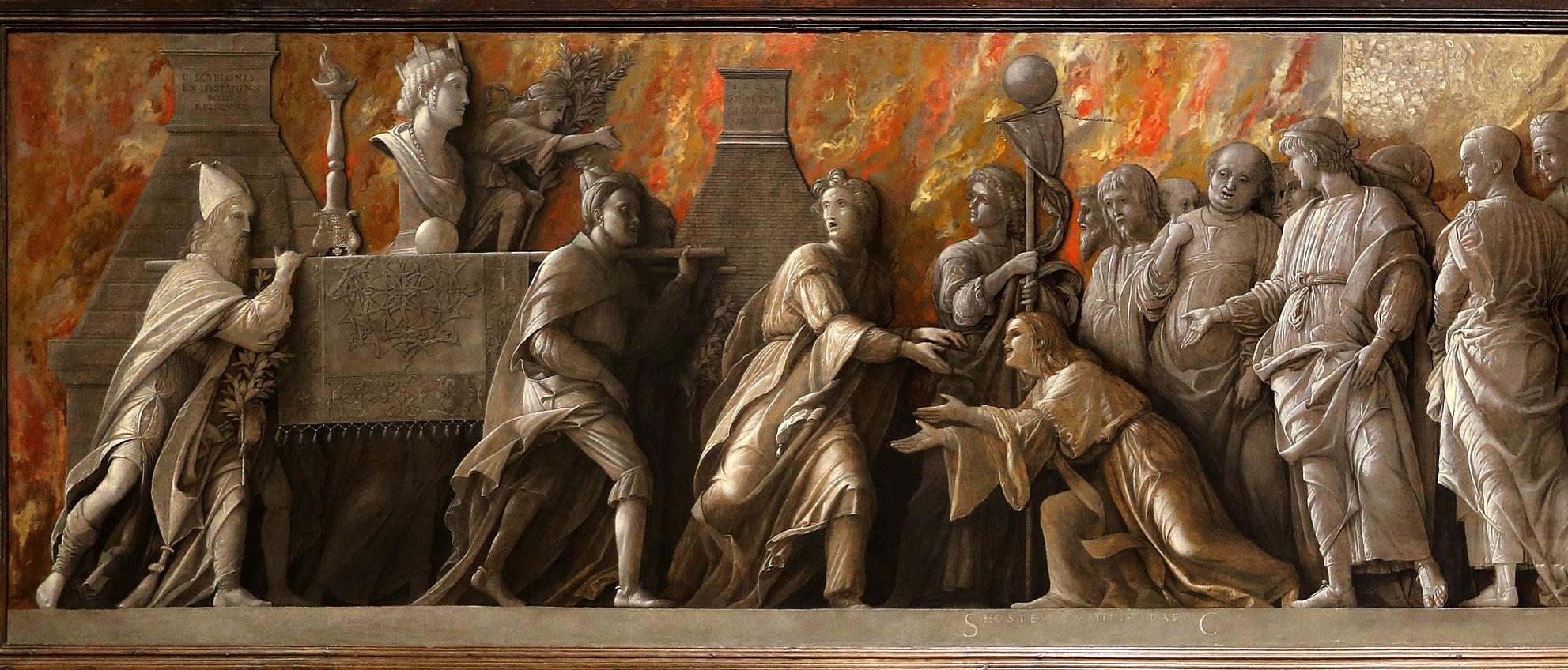 Andrea Mantegna: Introduzione del culto di Cibele a Roma