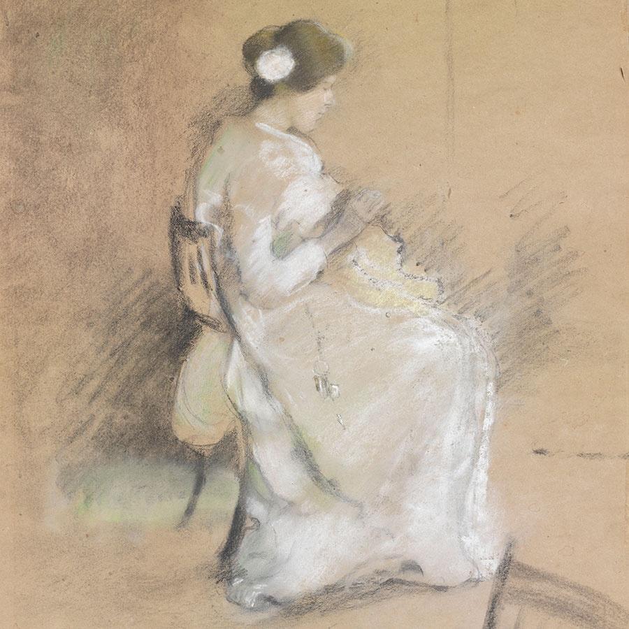 Mary Berenson panorama card