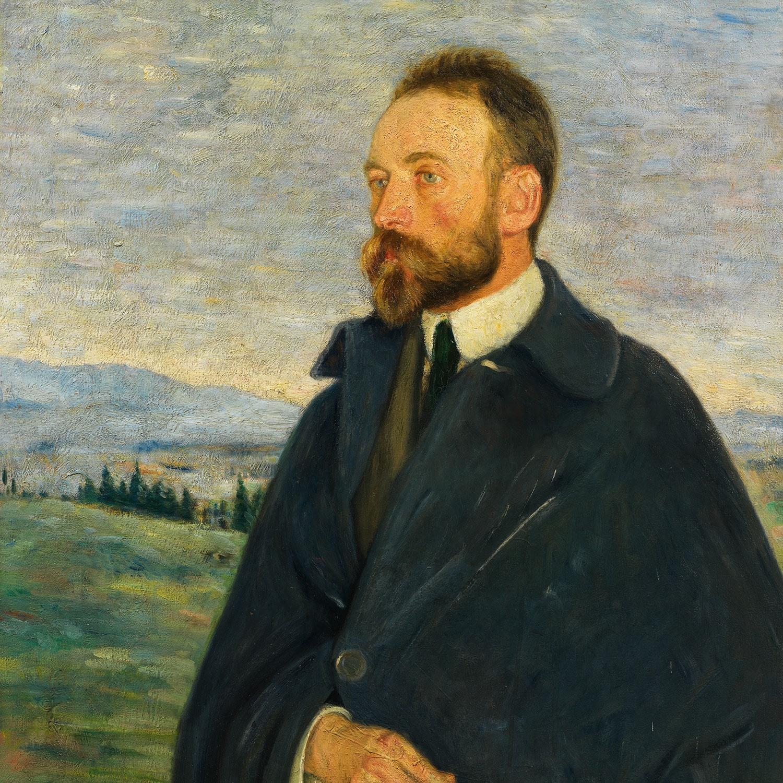 Bernard Berenson portrait painting