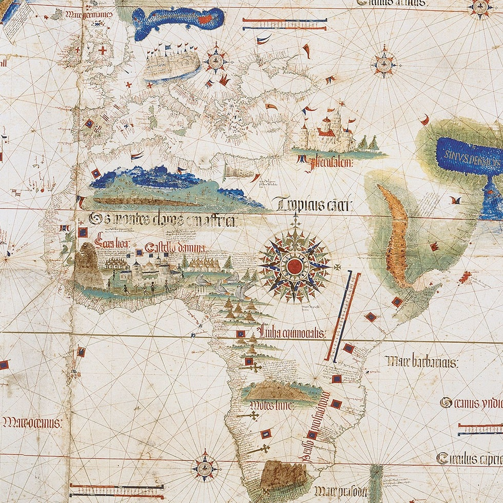Cantino planisphere (detail)