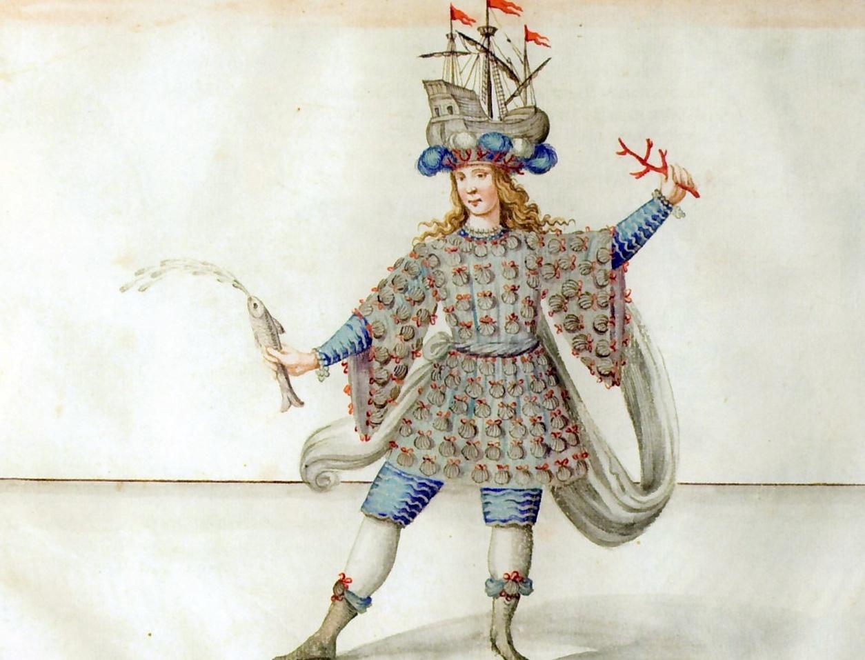 Giovanni Tommaso Borgonio, Costumi per Il carnevale languente