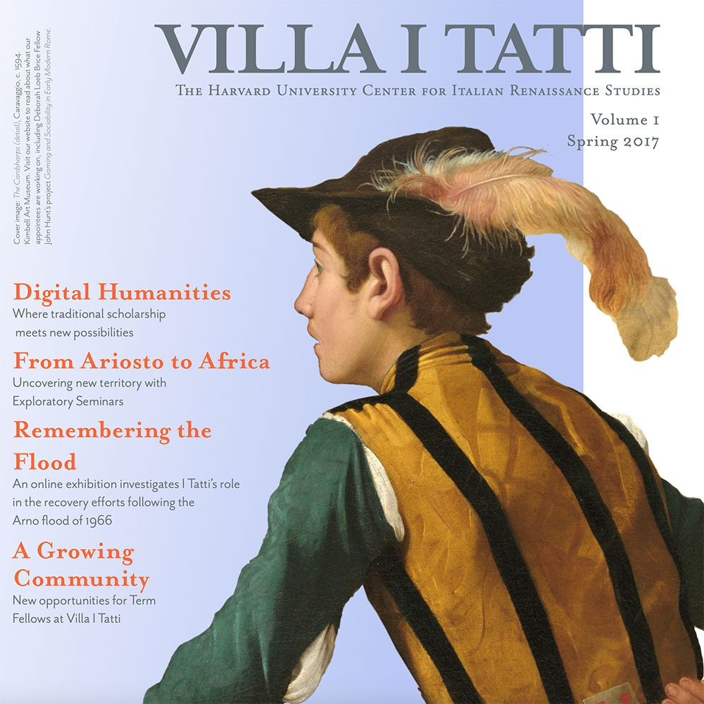Cover of the 2017 I Tatti Newsletter