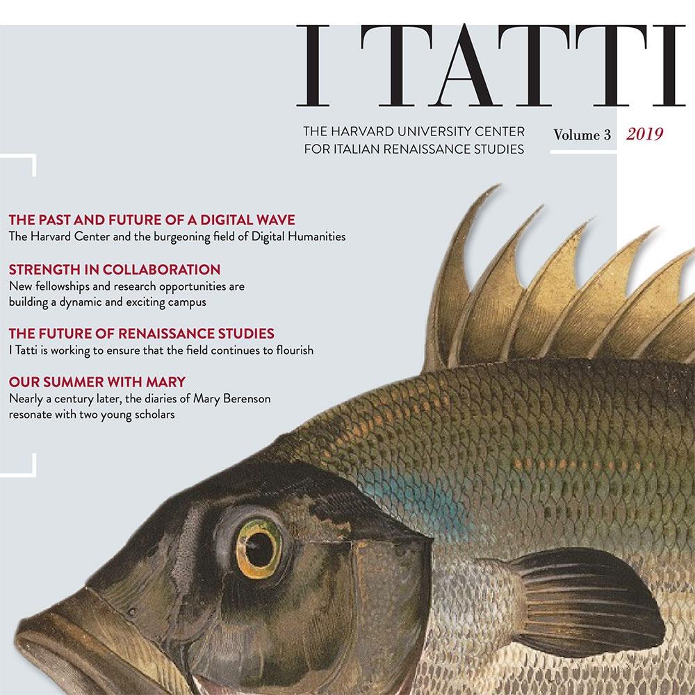 Cover the 2019 I Tatti Newsletter