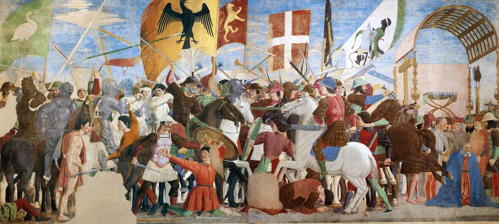 Piero della Francesca - Battle between Heraclius and Chosroes