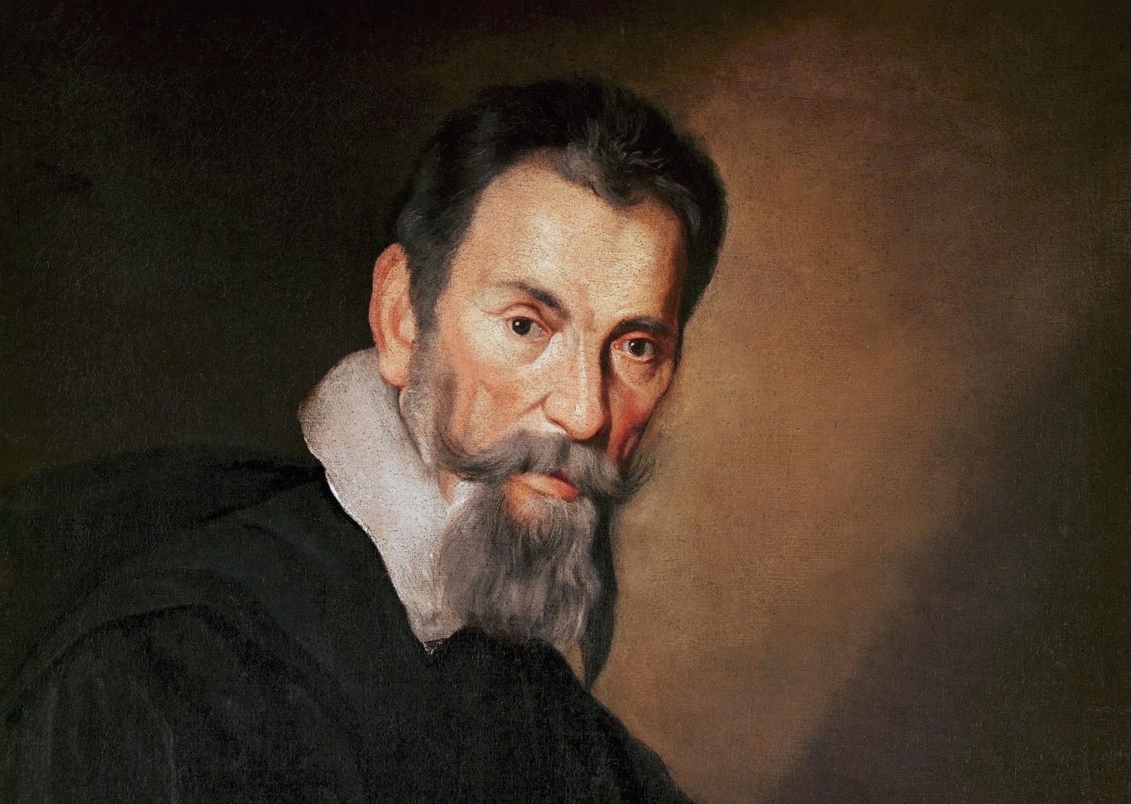 Portrait of Claudio Monteverdi by Bernardo Strozzi
