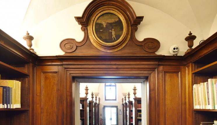 inside the Smyth wind of the Biblioteca Berenson at I Tatti