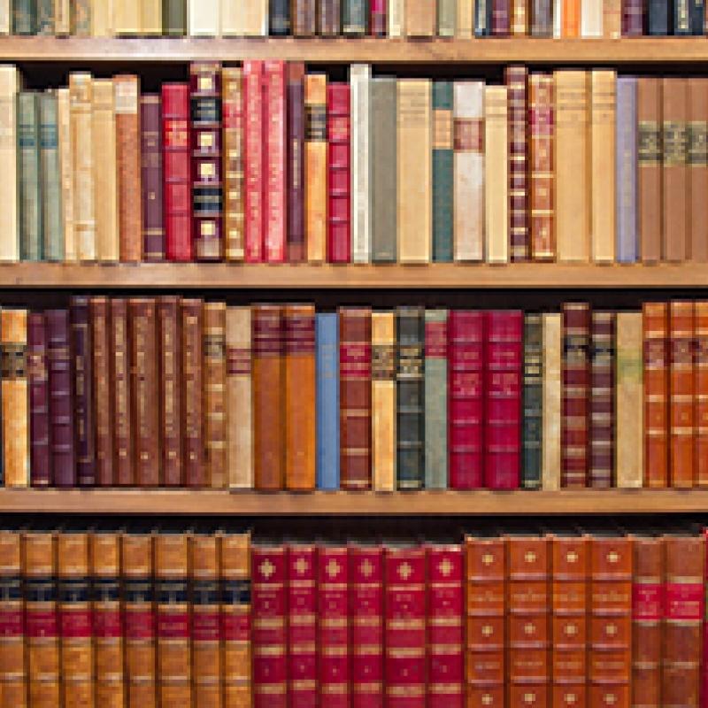 library books I Tatti