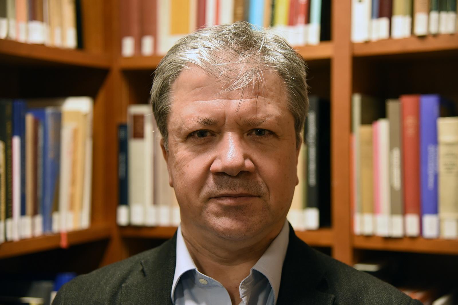 Portrait photo of Etienne Jollet