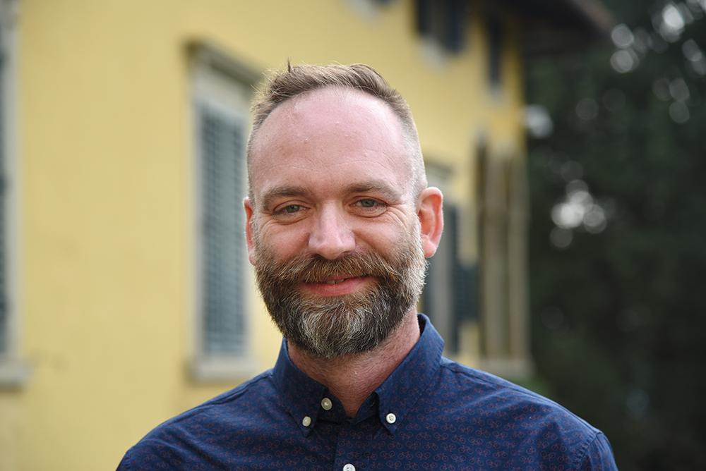 Portrait photo of Stephen McCormick