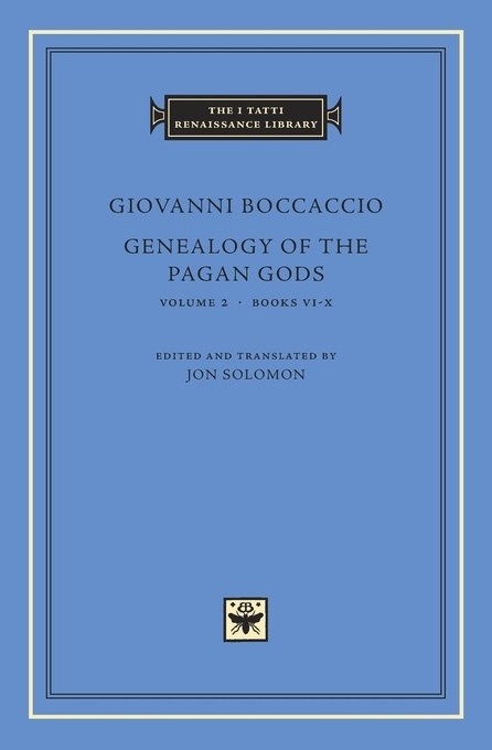 Genealogy of the Pagan Gods, Volume 2: Books VI–X