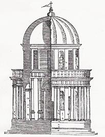 Bramante Is Widely Credited For Having Pioneered A New And Assertively Antique Architectural Style In Rome At Almost The Very Start Of Sixteenth Century