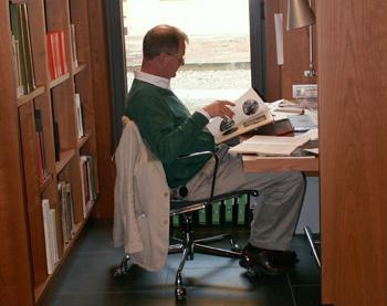 Reader in Smyth Library
