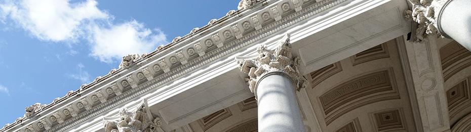 Colonnade of Basilica of Saint Paul Outside the Walls