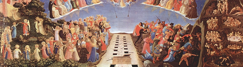 Detail of The Last Judgment (Fra Angelico, Florence)