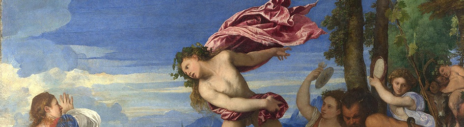 Titia, Bacchus and Ariadne, detail