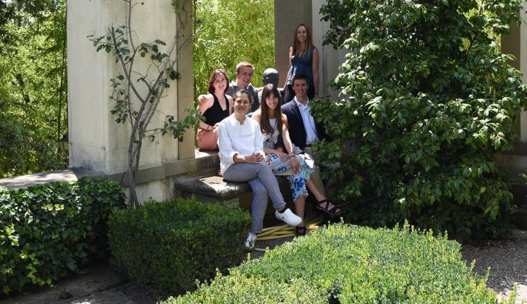 Interns at I Tatti, Summer 2018