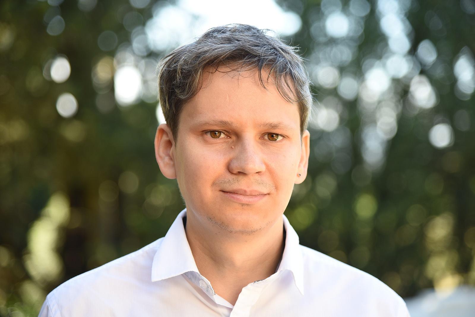 Portrait photo of Mikhail Lopatin
